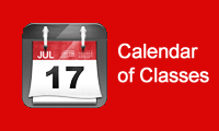 Calendar of Classes